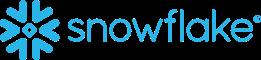 Snowflake logo blue